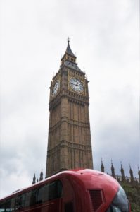 Obligatory Big Ben and red bus photo