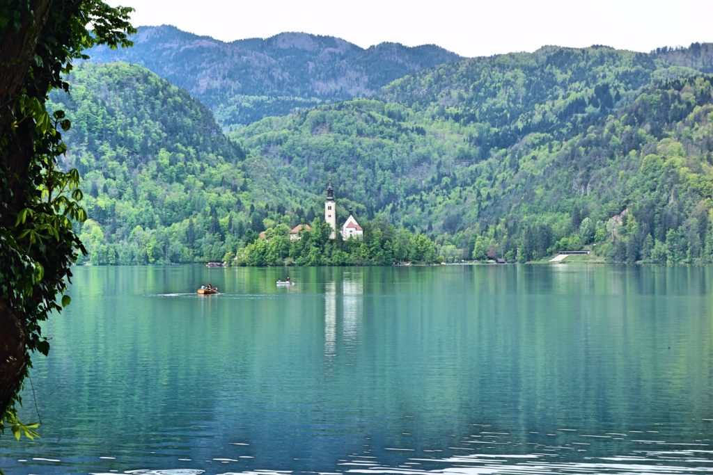 Lake Bled rowboat